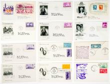 Lot 386: Mostly 1930's/40's U.S. First Day Covers (24)
