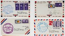 Lot 388: U.S. Air Mail Covers (18)