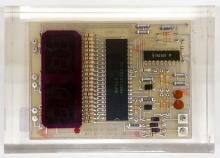 Lot 393: Encased Motherboard by Taimei Acrylics