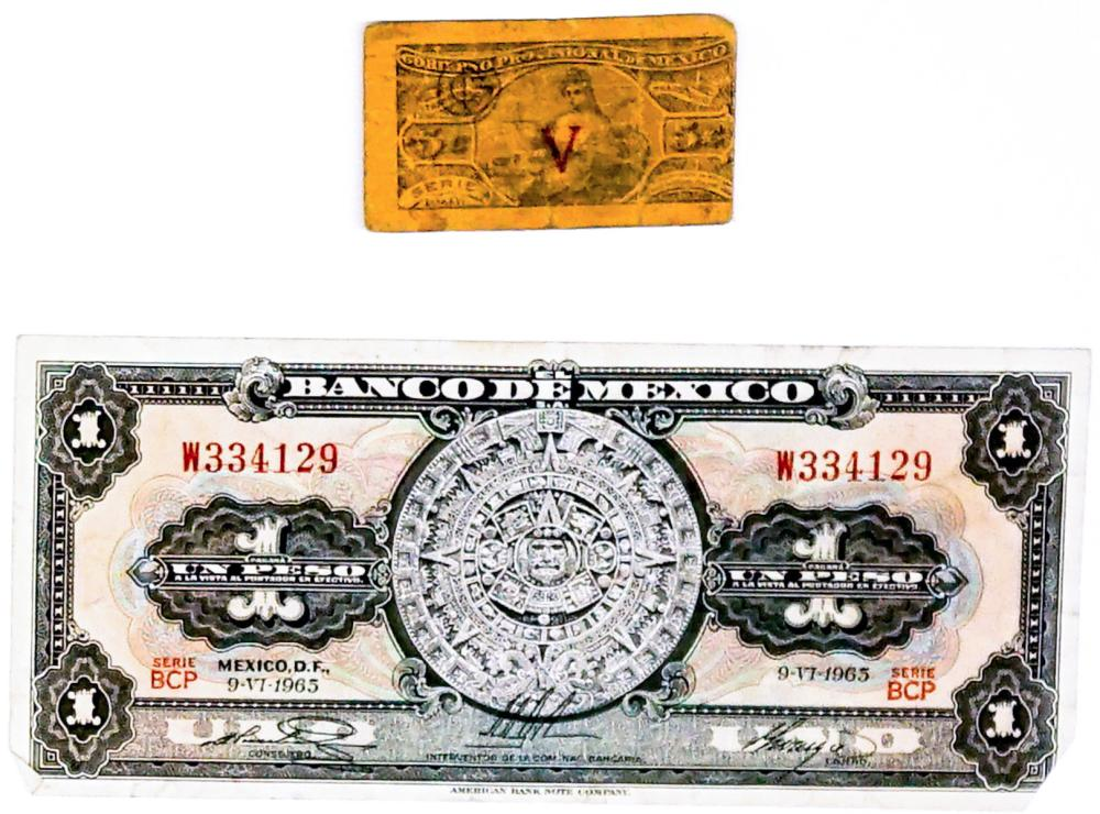 Lot 398: Mexico Vintage Currency