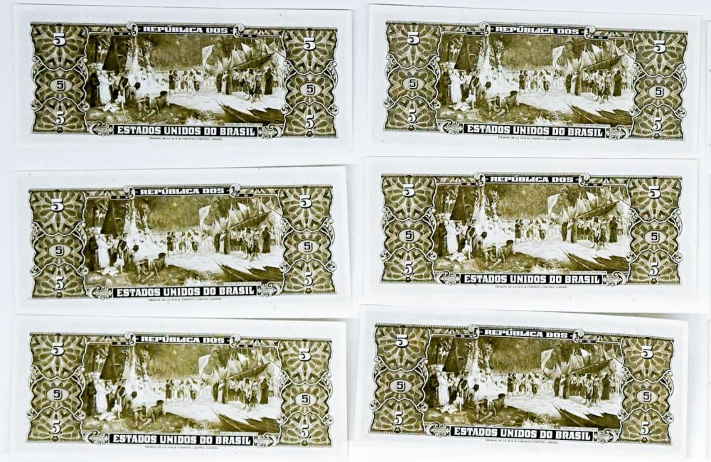 Lot 401: Brazil Currency UNC (26) with Two Signed