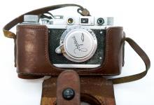 Lot 413: Russian Vintage 35mm Cameras (3)