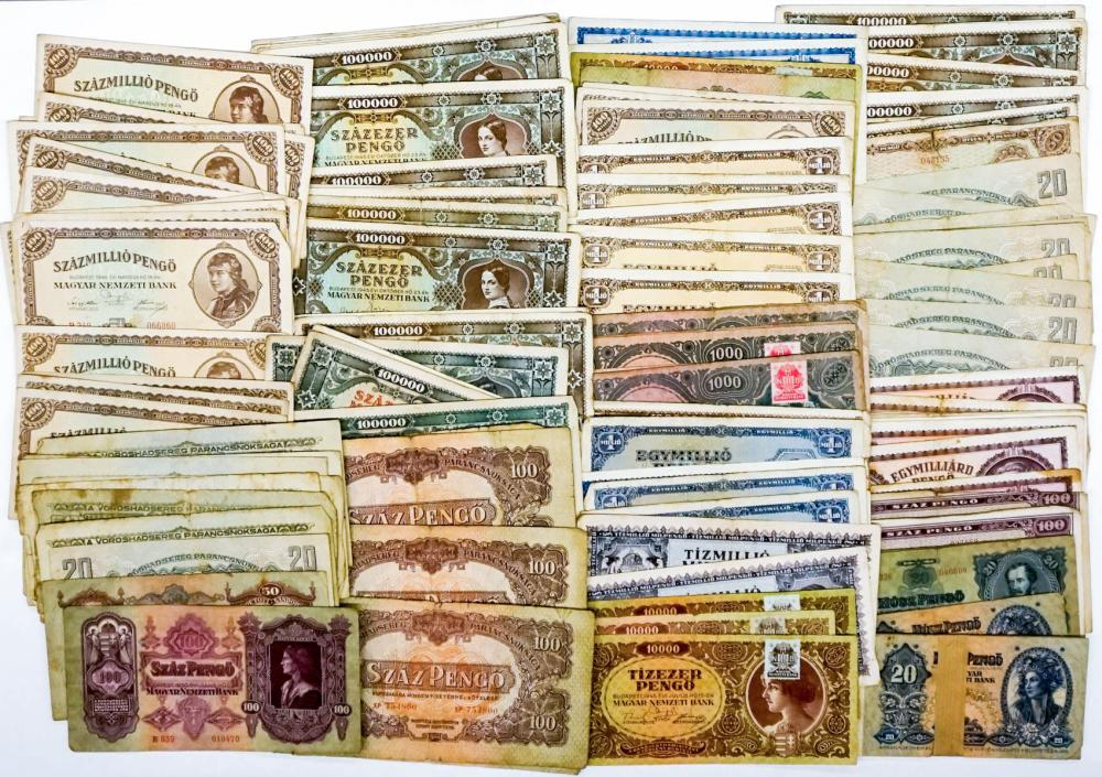 Lot 411: [144 Pieces] Estate Collection Hungary Currency