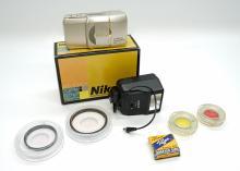 Lot 417A: Nikon Camera and Camera Accessories