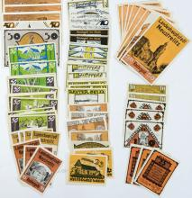 Lot 425: [Germany, Notgeld] Group of (232) Pieces
