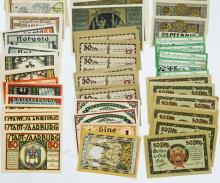 Lot 424: [Germany, Notgeld} Group of (215) Pieces