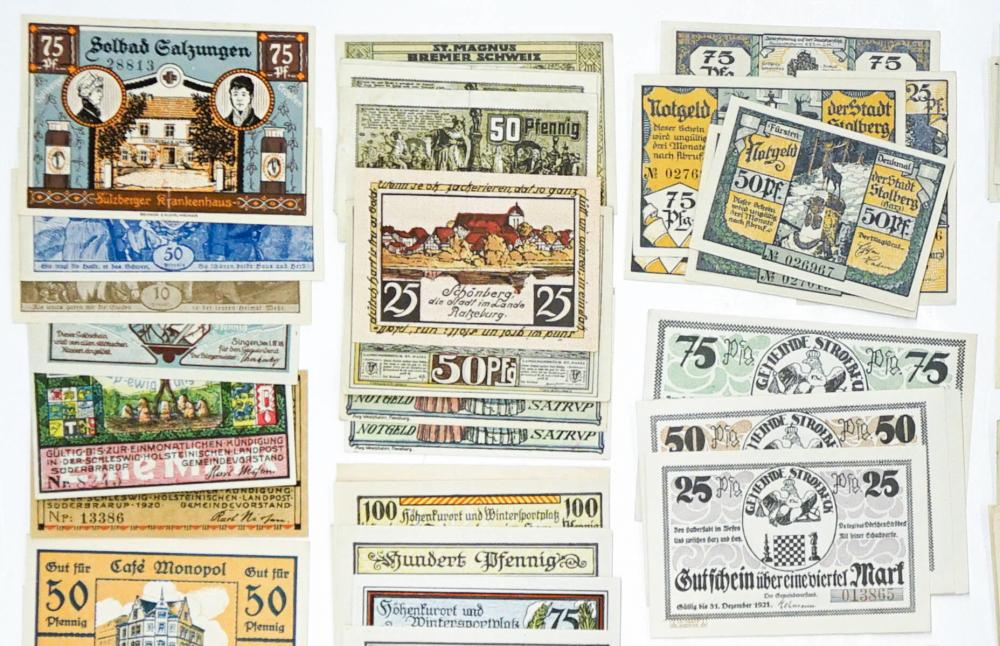 Lot 427: [Germany, Notgeld] Group of (236) Pieces