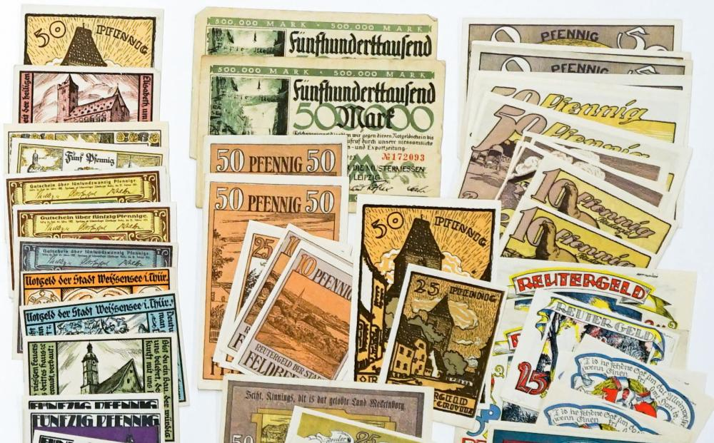 Lot 433: [Germany, Notgeld] Group of (252) Pieces
