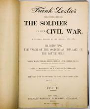Lot 439: Soldier in Our Civil War (2 Vol Set LTD) 1890