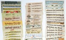 Lot 431: [Germany, Notgeld] Group of (242) Pieces