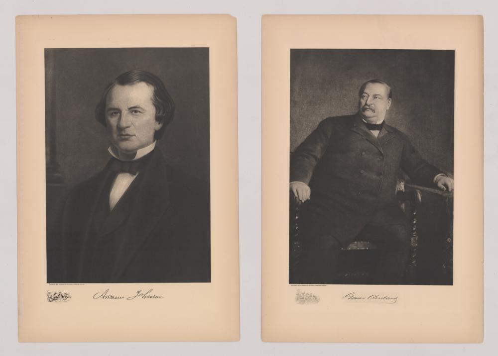 Lot 438: 1907 Original Photogravures (3) US Presidents