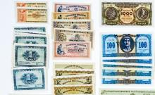 Lot 446: [Greece] Group of Old Currency (96)