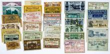 Lot 467: Notgeld and Currency from Germany (30)