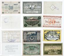 Lot 466: Large Notgeld and Currency from Germany (24)