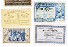 Lot 471: Large Notgeld and Germany Currency (24)
