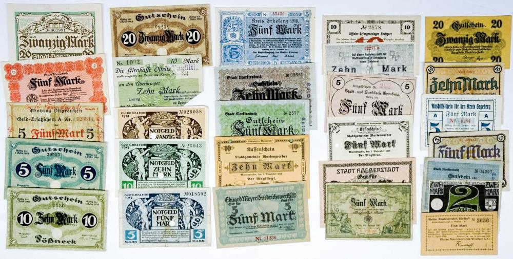 Lot 468: Notgeld and Germany Currency (28)