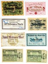 Lot 469: Large Notgeld and Germany Currency (20)