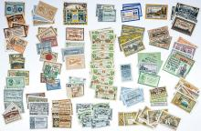 Lot 491: [Germany, Notgeld] Group of (121) Pieces