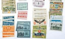 Lot 490: [Germany, Notgeld] Group of (153) Pieces