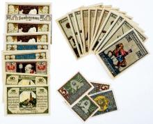 Lot 493: [Germany, Notgeld] Very Nice Group of (105) Pcs