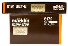 Lot 513: Marklin Mini-Club 8172 with Box and 2 Extra Cars