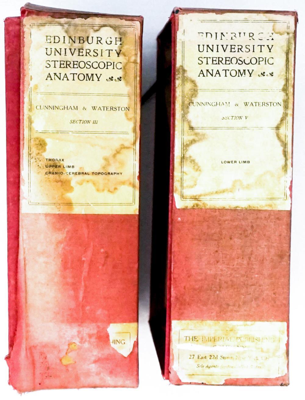 Lot 507: Edinburgh Stereoscopic Atlas of Anatomy (122)
