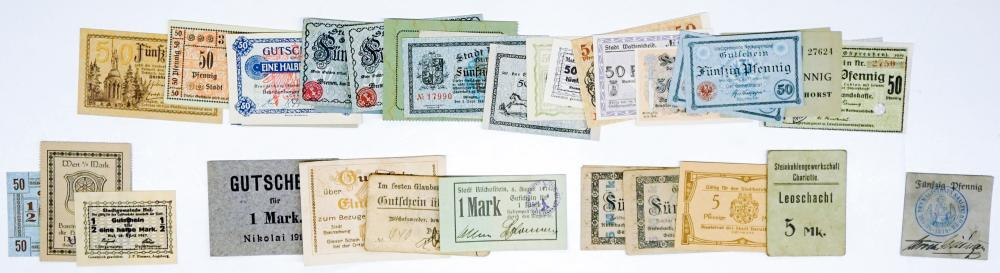 Lot 512: [Germany, Austria, Notgeld] Group of (86) Pcs
