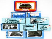 Lot 524: Marklin Trains MIB (10)