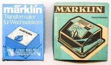 Lot 526: Marklin Transformers (2)