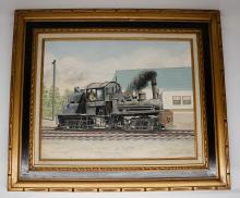 Lot 529: Al Armitage Original Painting