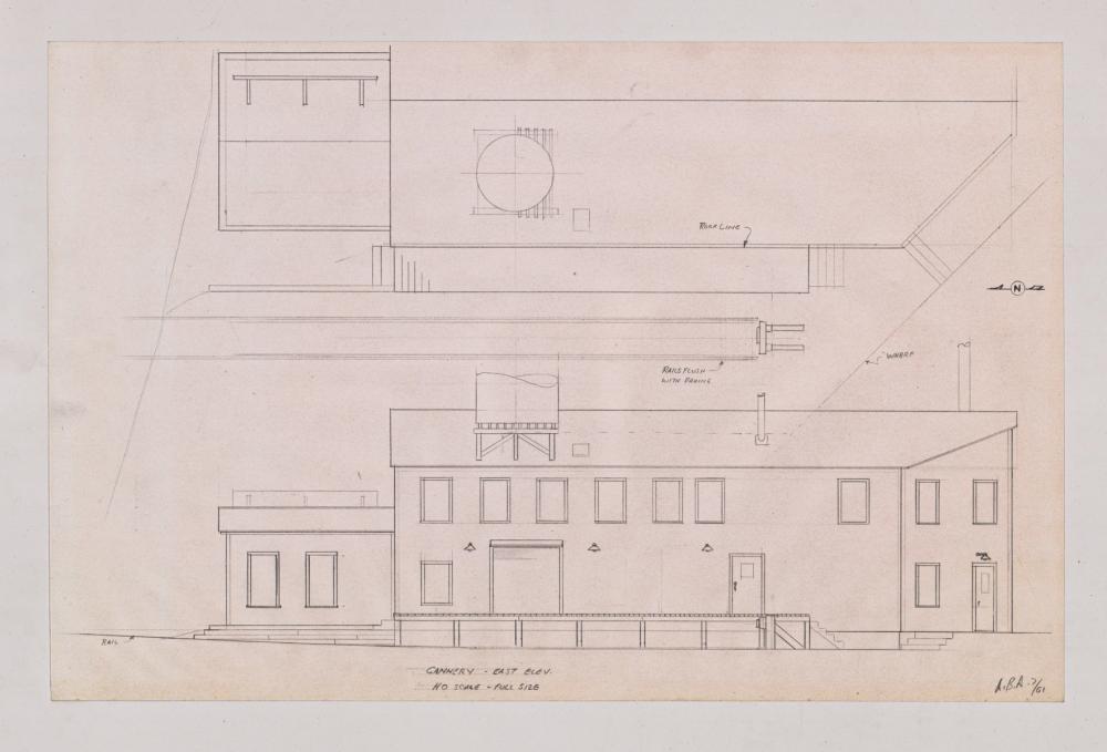 Lot 545: Al Armitage Original Drawings HO Model Building