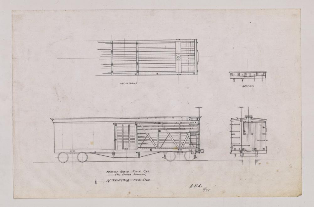 Lot 546: Al Armitage Original Drawings of Trains (17)