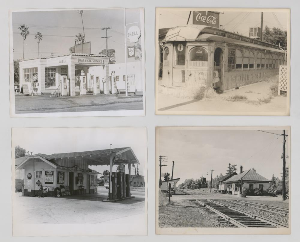 Lot 555: [Storefronts, Street Scenes] Armitage Collection