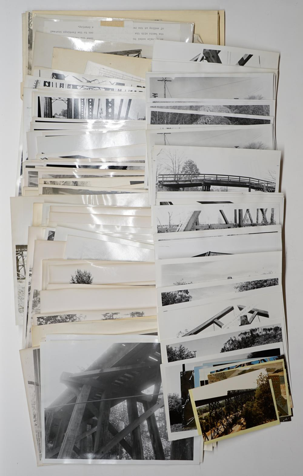 Lot 558: [Railroad Bridges] Al Armitage Collection (120)