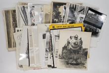 Lot 551: [Trains, Railroadiana] Al Armitage Collection (70)