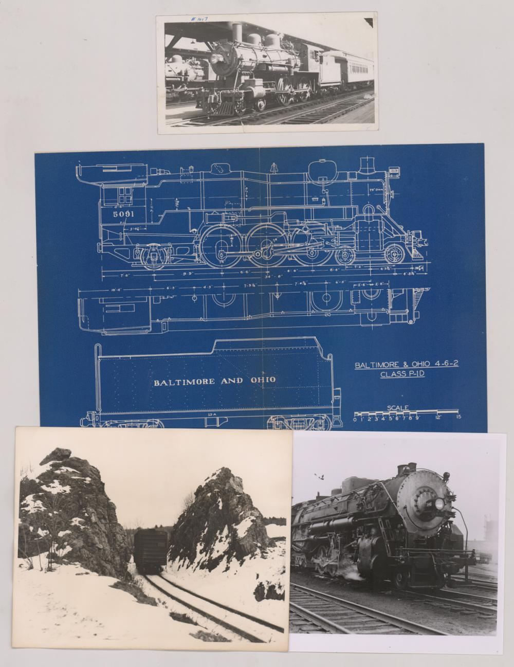 Lot 550: [Trains, Railroad] Al Armitage Collection (117)