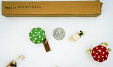Lot 571: Miniature Toy Train Metal