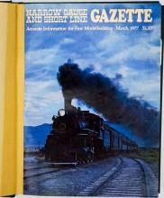 Lot 574: Narrow Gauge And Short Line Gazette in 3 Volumes