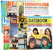 Lot 580: The Beatles Vintage Magazines (8)
