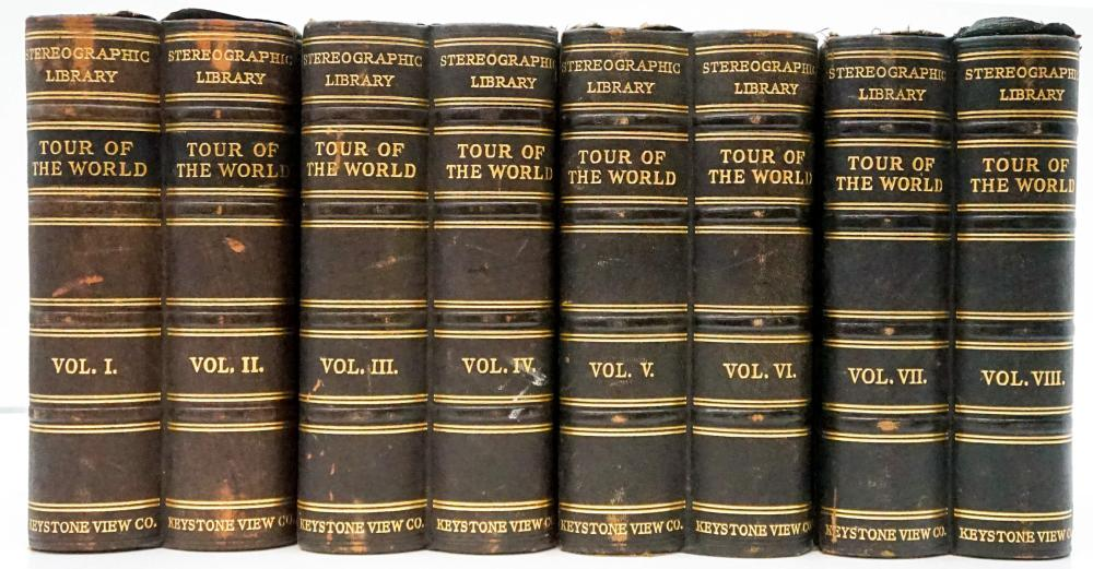 Lot 583: Keystone Stereographic Library Tour of The World