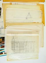 Lot 593: Al Armitage Collection Drawings, Christmas Cards