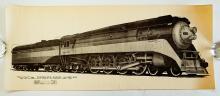 Lot 590: Four Railroad Prints