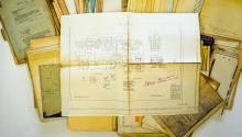 Lot 597: Al Armitage Collection Locomotive Blueprints
