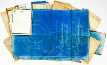 Lot 600: Al Armitage Collection Locomotive Blueprints