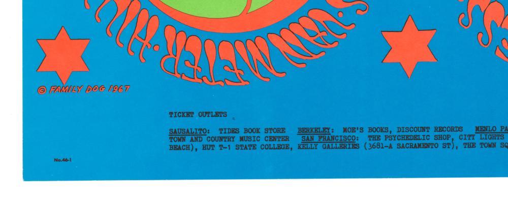 Lot 602: Family Dog Avalon Ballroom Poster