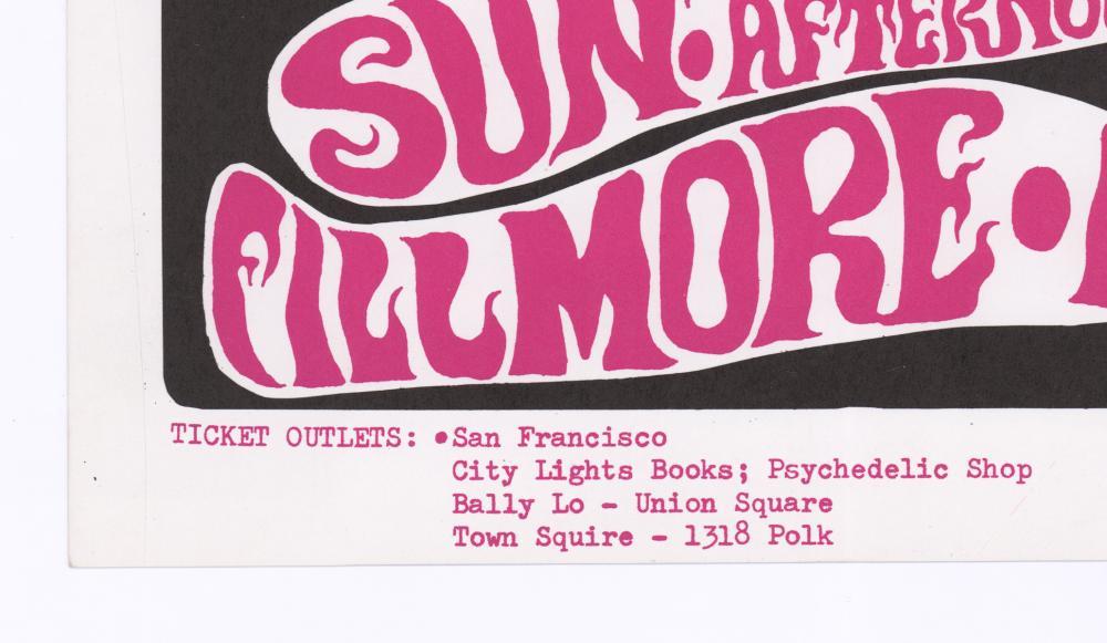 Lot 603: Grateful Dead Fillmore Poster BG-17-RP-3