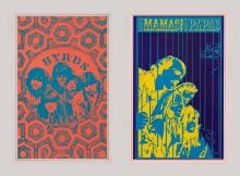 Lot 620B: Byrds, Mama and the Papas Head Shop Posters