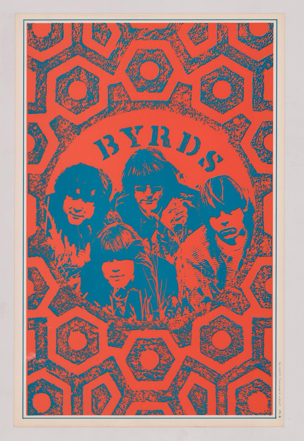 Lot 620A: The Doors and The Byrds Posters (2)
