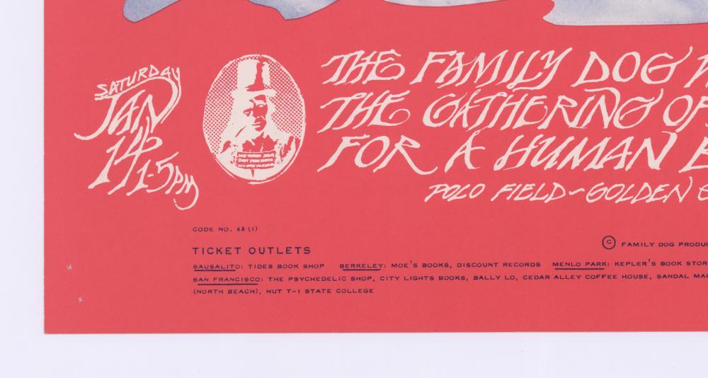 Lot 623: Family Dog Avalon Poster FD-43-RP-2
