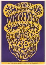 Lot 639: The Mindbenders Bill Graham Poster BG-16-RP-2
